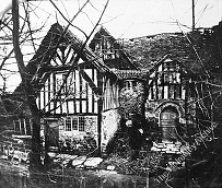 Canons Garth derelict before its restoration in 1893