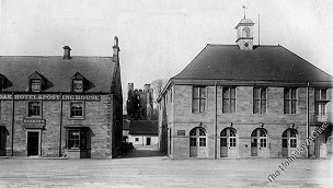 The Town Hall in the early 1900's