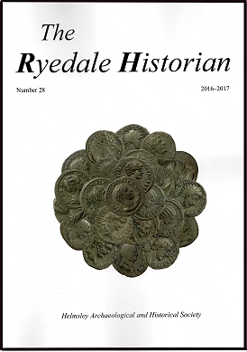 Click here for the contents of Ryedale Historian No 28