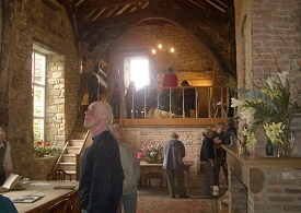 Members of Helmsley Archaeological and Hitorical Society visiting Foulbridge Hall