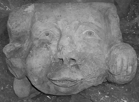 Grotesque found at the Hungate excavation